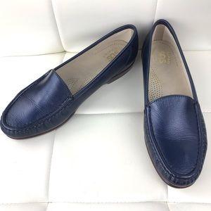 SAS Simplify Tripad Navy Blue Slip On Shoes, 9